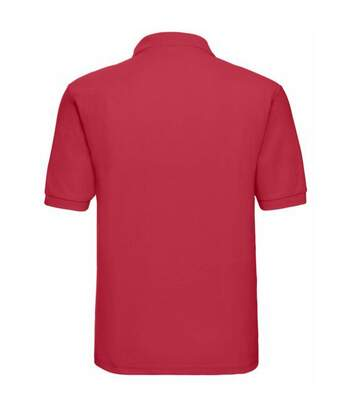 Russell Mens Classic Short Sleeve Polycotton Polo Shirt (Classic Red) - UTBC566