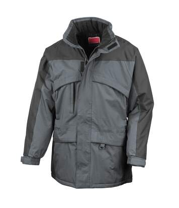 Result Mens Seneca Midweight Performance StormDri Waterproof Windproof Jacket (Anthracite/Black) - UTBC940