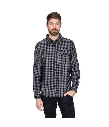 Trespass Mens Participate Shirt (Navy Check) - UTTP4568