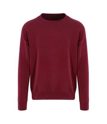 AWDis Just Hoods Mens Graduate Heavyweight Sweatshirt (Burgundy) - UTPC3449
