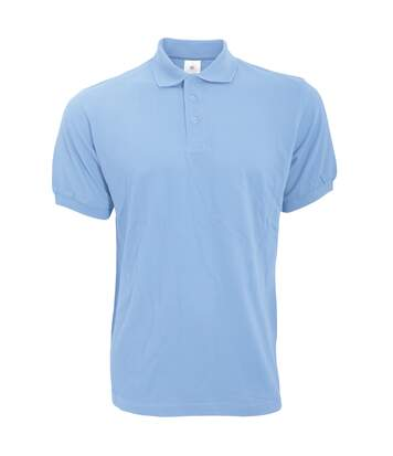 B&C Safran Mens Polo Shirt / Mens Short Sleeve Polo Shirts (Sky Blue) - UTBC103