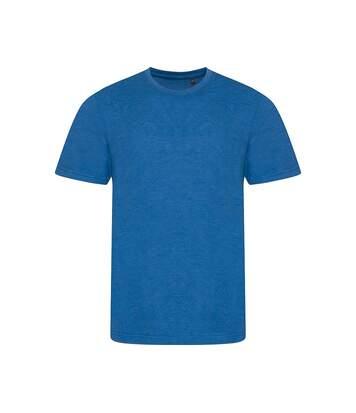 AWDis Mens Tri Blend T Shirt (Heather Royal) - UTPC2894