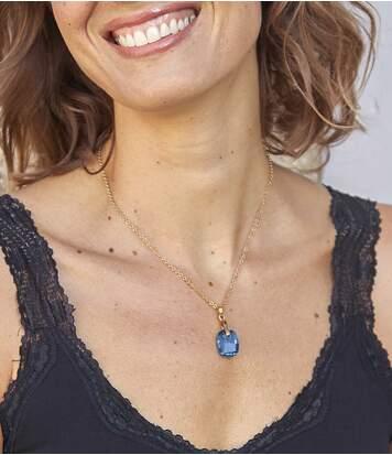 Halsketting Oceaan Glans versierd met Swarovski®-kristallen