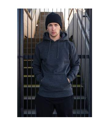 Build Your Brand Mens Heavy Pullover Hoodie (Navy) - UTRW5681