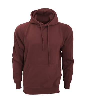 Fdm - Sweatshirt À Capuche - Unisexe (Bordeaux) - UTBC2031