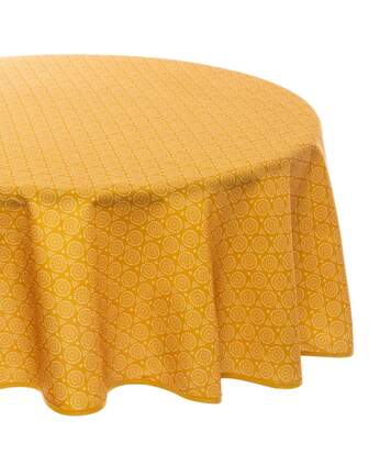 Atmosphera - Nappe Anti-tache D180 cm Imprimé Ethnique