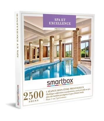 SMARTBOX - Spa et excellence - Coffret Cadeau Bien-être