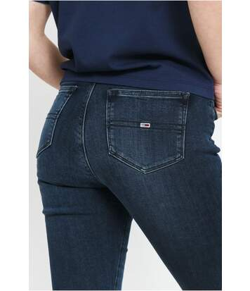 Jean taille haute super skinny stretch SYLVIA  -  Tommy Jeans - Femme