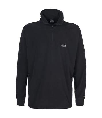 Trespass Mens Masonville Half Zip Microfleece Top (Black) - UTTP261