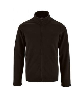 SOLS Mens Norman Fleece Jacket (Black) - UTPC3210