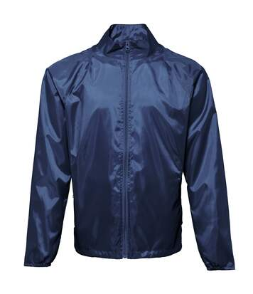 2786 Unisex Lightweight Plain Wind & Shower Resistant Jacket (Burgundy) - UTRW2500
