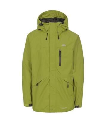 Trespass Mens Corvo Hooded Full Zip Waterproof Jacket/Coat (Cedar Green) - UTTP296