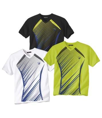 3er-Pack T-Shirts Summer Sport