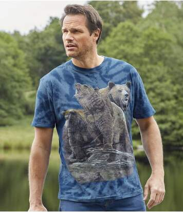 T-shirt Tye and Dye Grizzli