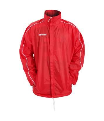 Errea Mens Basic Training Football Sport Jacket (Red) - UTPC259