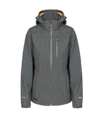 Trespass Womens/Ladies Claren II Waterproof Softshell Jacket (Dark Grey Marl) - UTTP4615
