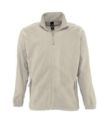 SOLS Mens North Full Zip Outdoor Fleece Jacket (Rope) - UTPC343