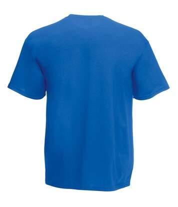 Fruit Of The Loom Mens Screen Stars Original Full Cut Short Sleeve T-Shirt (Royal) - UTBC340