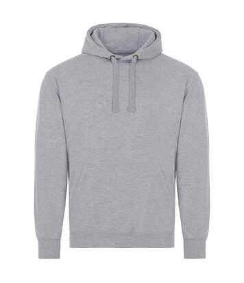 AWDis Just Hoods Adults Unisex Supersoft Hooded Sweatshirt/Hoodie (Black) - UTRW3926