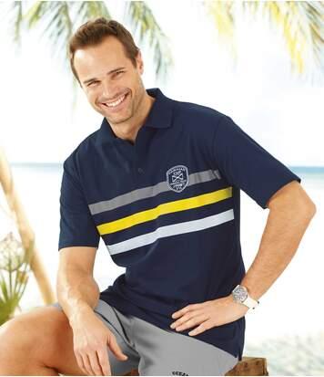 Men's Navy Blue Polo Shirt