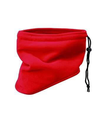 Tour de cou écharpe cache-nez polaire - MB7930 - rouge