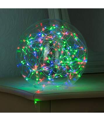 Feeric Christmas - Guirlande lumineuse Intérieur 40 MicroLED Multicolore sur 3.90 mètres
