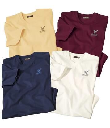 Zestaw 4 t-shirtów King Eagle