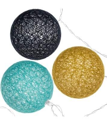 Atmosphera - Guirlande lumineuse 10 boules LED D6 cm Cosy'ness