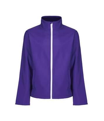 Regatta Mens Ablaze Printable Softshell Jacket (Purple/Black) - UTRG3560