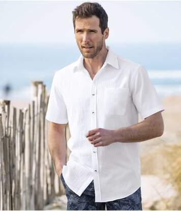 2er-Pack Hemden Riviera aus Krepp