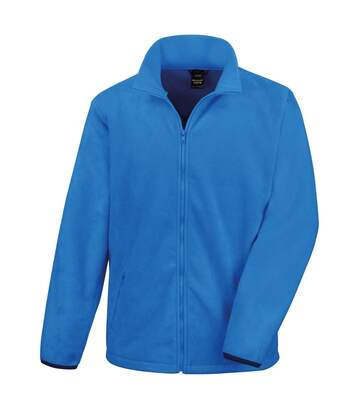 Result Mens Core Fashion Fit Outdoor Fleece Jacket (Electric Blue) - UTBC912