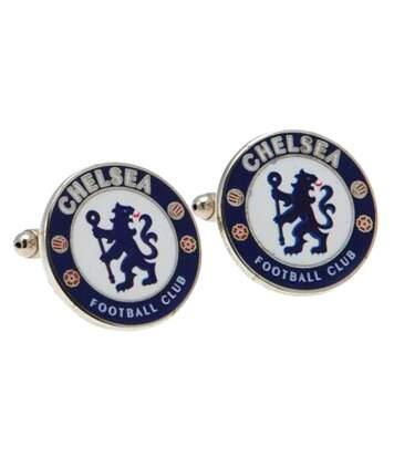 Chelsea Fc - Boutons De Manchette (Bleu/Blanc) - UTSG1641