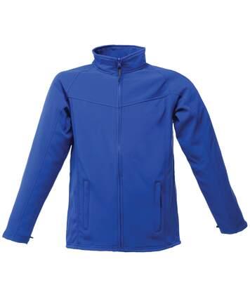 Regatta Mens Uproar Lightweight Wind Resistant Softshell Jacket (Royal Blue/Seal Grey) - UTRW1211