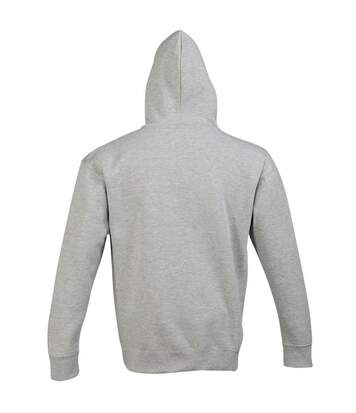 SOLS Slam Unisex Hooded Sweatshirt / Hoodie (Grey Marl) - UTPC381