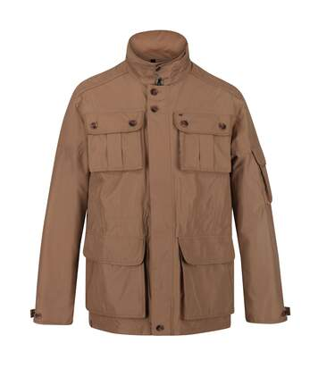 Regatta Mens Elmore Waterproof Cargo Jacket (Dark Camel) - UTRG4895