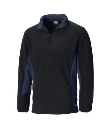 Dickies Mens Zip Up Micro Fleece Jacket (Navy/Black) - UTPC2729