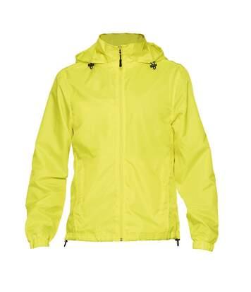 Gildan Mens Hammer Windwear Jacket (Safety Green) - UTPC3988
