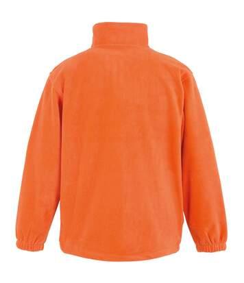 Result Mens Full Zip Active Fleece Anti Pilling Jacket (Orange) - UTBC922