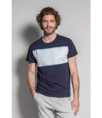 T-shirt bicolore logoté DAREK Yellow