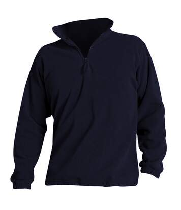 SOLS Ness Unisex Zip Neck Anti-Pill Fleece Top (Navy) - UTPC345