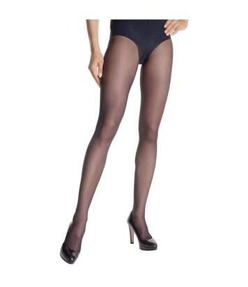 DIM Collant Femme Semi-opaque VENTRE PLAT DIAMS Noir 25D