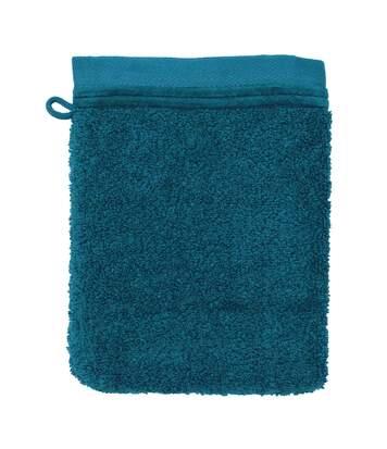 Gant de toilette 16x21 cm JULIET Bleu Baltic 520 g/m2