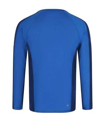 Regatta - Sous-Pull Thermique Beru - Homme (Bleu/bleu foncé) - UTRG2861