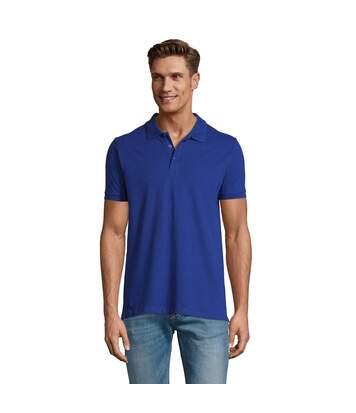 SOLS Mens Phoenix Short Sleeve Pique Polo Shirt (Heather Oxblood) - UTPC2782
