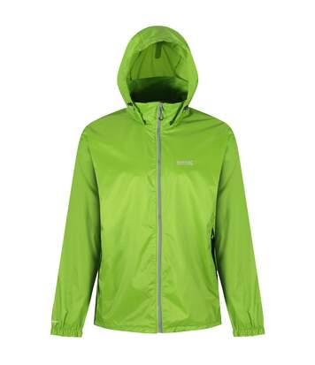 Regatta Mens Lyle IV Waterproof Hooded Jacket (Lime Green) - UTRG3476