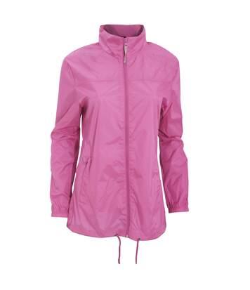 B&C Womens/Ladies Sirocco Lightweight Windproof, Showerproof & Water Repellent Jacket (Ultra Yellow) - UTBC1283