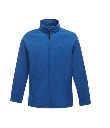 Regatta Uproar Mens Softshell Wind Resistant Fleece Jacket (Oxford Blue) - UTRG1480