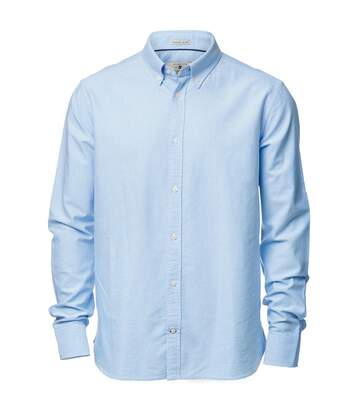 Nimbus Mens Rochester Oxford Long Sleeve Formal Shirt (Light Blue) - UTRW3633