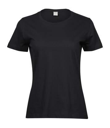 Tee Jays - T-Shirt Sof - Femme (Noir) - UTPC3425
