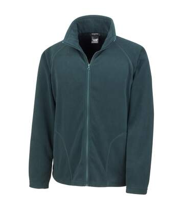 Result Core Mens Micron Anti Pill Fleece Jacket (Charcoal) - UTBC852